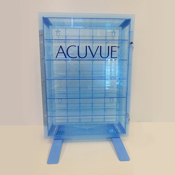 Acuvue display case